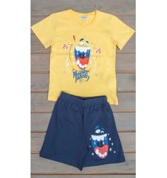 Detské pyžamo šortky Monster