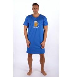 Pánska nočná košeľa s krátkym rukávom Veľké pivo