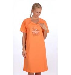 Dámska nočná košeľa materská Kočík