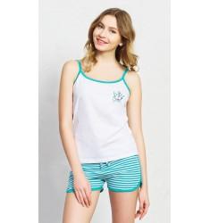 Dámske pyžamo šortky na ramienka Summer