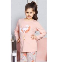 Detské pyžamo dlhé Králik veľký