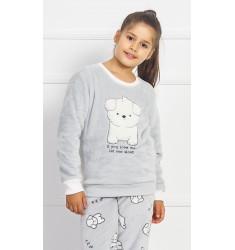 Detské pyžamo dlhé Šteniatko