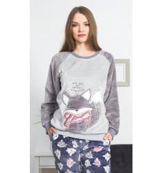 Dámske pyžamo dlhé Líška
