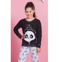 Detské pyžamo dlhé Veľká panda