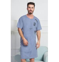 Pánska nočná košeľa s krátkym rukávom Air force