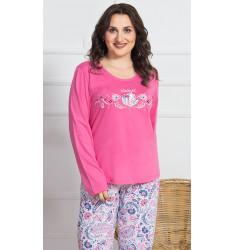 Dámske pyžamo dlhé Lara