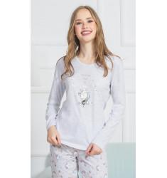 Dámske pyžamo dlhé Jednorožci