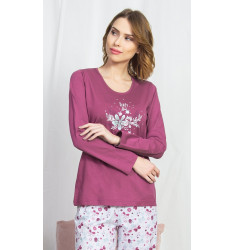 Dámske pyžamo dlhé Viola