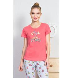 Dámske pyžamo kapri Fruit