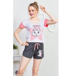 Dámske pyžamo šortky Fashion