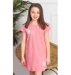 Detská nočná košeľa s krátkym rukávom Ovečky