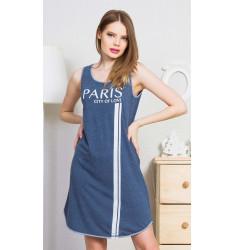 Dámska nočná košeľa na ramienka Paris