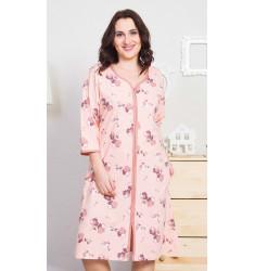 Dámske domáce šaty s trojštvrťovým rukávom Barbara