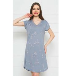 Dámska nočná košeľa s krátkym rukávom Lydie