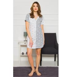 Dámska nočná košeľa s krátkym rukávom Šárka