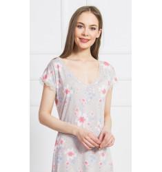 Dámska nočná košeľa s krátkym rukávom Dominika