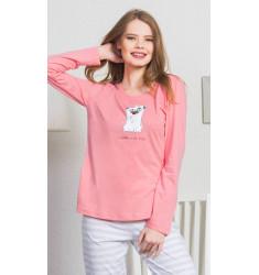 Dámske pyžamo dlhé I like you