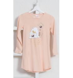 Detská nočná košeľa s dlhým rukávom Little dogs