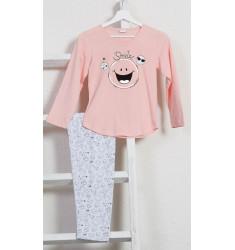 Detské pyžamo s dlhým rukávom Big smile