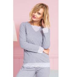 Dámske pyžamo dlhé Kristýna
