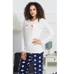 Dámske pyžamo dlhé Kitty