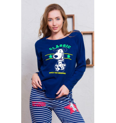 Dámske pyžamo dlhé Classic