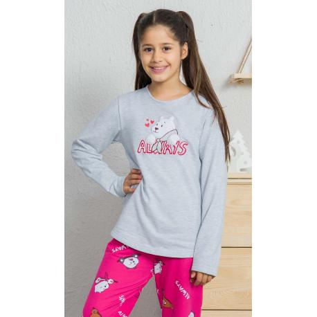 Detské pyžamo dlhé Macko