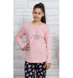 Detské pyžamo dlhé Korytnačka