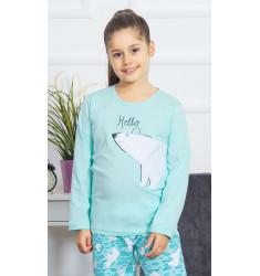 Dětské pyžamo dlouhé Méďa Hello