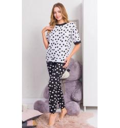 Dámske pyžamo dlhé Guličky