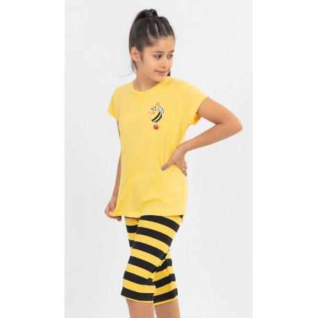 Detské pyžamo kapri Včielka