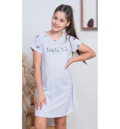 Detská nočná košeľa s krátkym rukávom Ježkovia