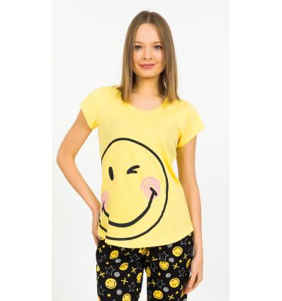 Dámske pyžamo kapri Big smile