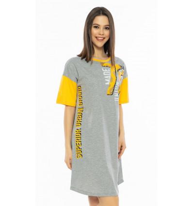Dámska nočná košeľa s krátkym rukávom Superior