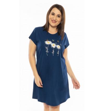 Dámska nočná košeľa s krátkym rukávom Margaréty