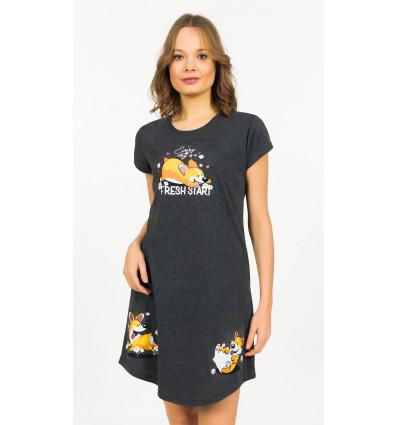 Dámska nočná košeľa s krátkym rukávom Fresh Start