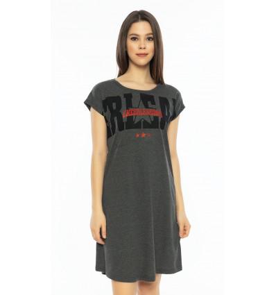 Dámska nočná košeľa s krátkym rukávom Cheerleading