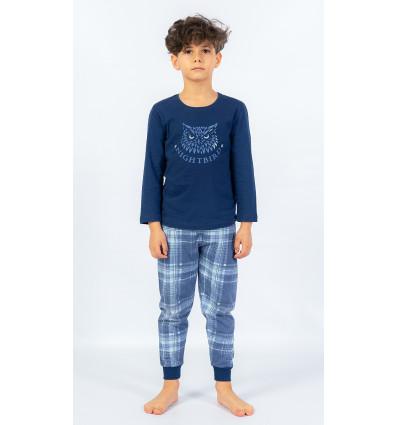 Detské pyžamo dlhé Sova