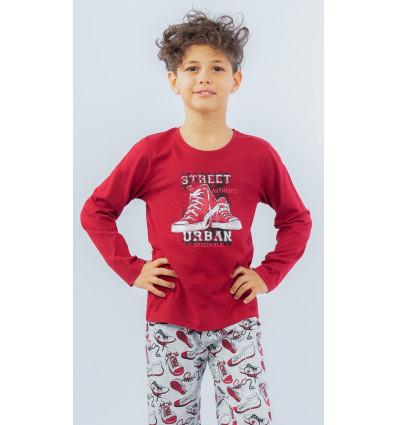 Detské pyžamo dlhé Tenisky