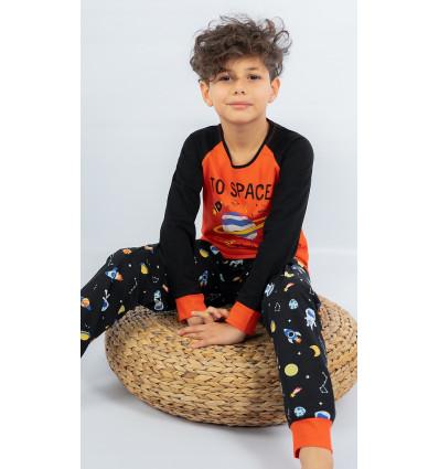 Detské pyžamo dlhé Vesmír