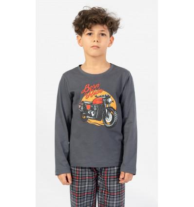 Detské pyžamo dlhé Motorka