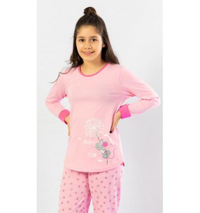 Detské pyžamo dlhé Malá myška