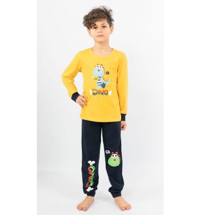 Detské pyžamo dlhé Dino