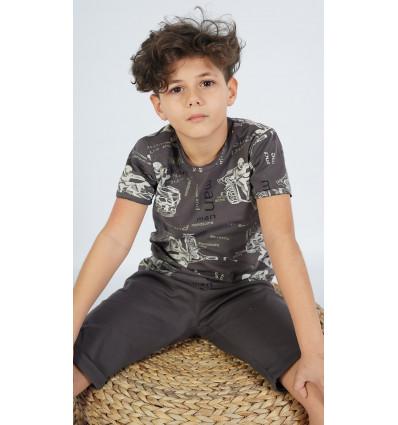 Detské pyžamo bermudy Samuel