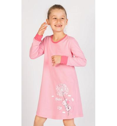 Detská nočná košeľa s dlhým rukávom Myš s púpavou
