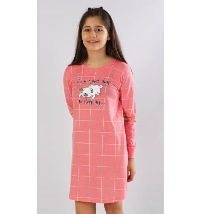 Detská nočná košeľa s dlhým rukávom Ospalec